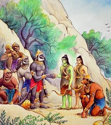 hanuman-sugriva