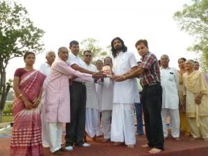 Gifting Satyarth Prakash in Ambala jail