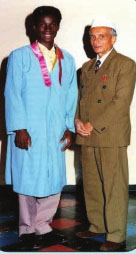 african vedic priest