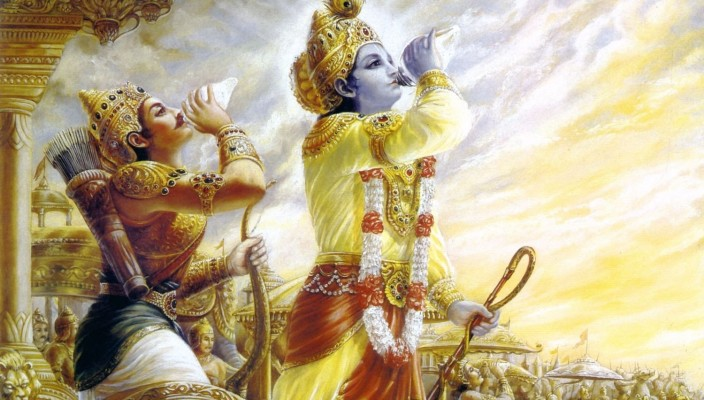 Arjun_And_Krishna_Blowing_Conch_In_The_Mahabharata_d2227579-6439-45a3-9ece-44e7b755285a