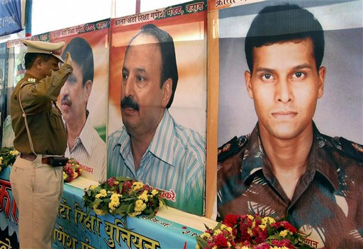 Tribute to the people who died on 26/11